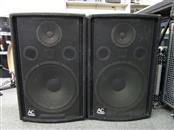 AUDIO CENTRON CE-156 SPEAKER CAB PAIR, 150 WATTS